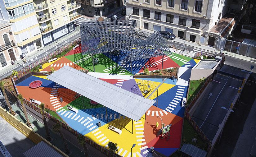 La remodelación de la Plaza López Falcón de Almería