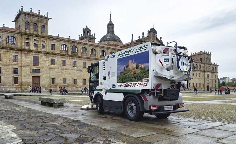 Monforte de Lemos mantiene su apuesta por la calidad de sus servicios urbanos