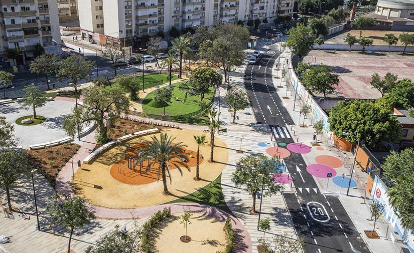 Nueva Plaza del Olivo de Sevilla: un lugar transformado bajo el concepto de la ciudad de los ciudadanos