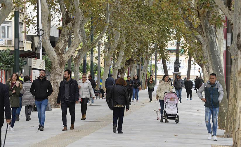 Paseo Alfonso X: nuevo eje peatonal de la ciudad de Murcia