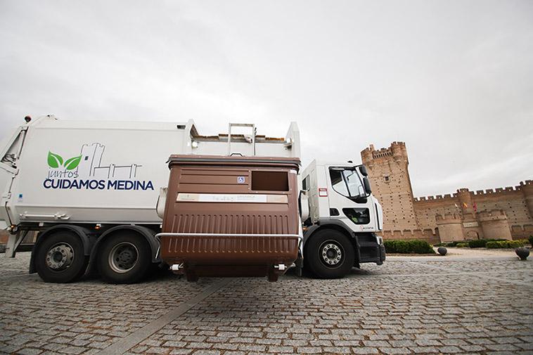 Recogida de residuos y limpieza viaria: transformación digital y sostenibilidad en Medina del Campo