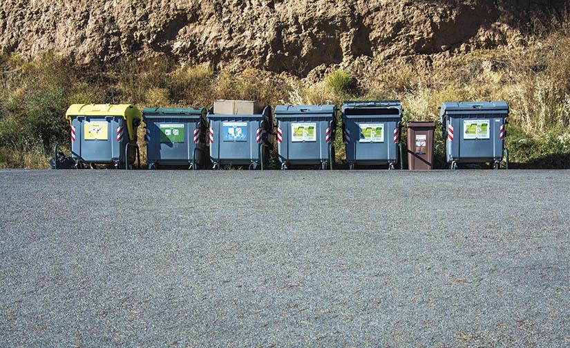 Una mirada a las tasas de residuos en España 2020