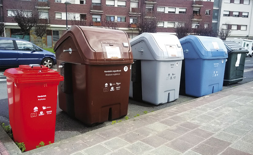 Zamudio, primer municipio en España con pago por generación con contenedor cerrado