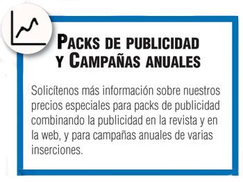 Packs de publicidad y campañas anuales