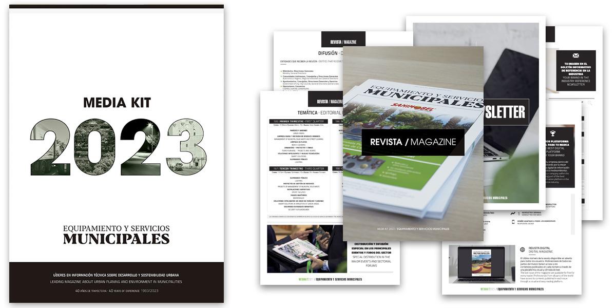 Imagen sobre la publicidad de la revista EySMunicipales